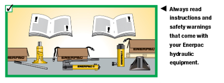 Enerpac Hydraulics Safety Instructions 5