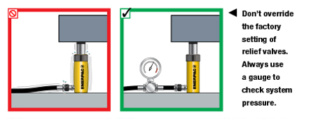 Enerpac Hydraulics Safety Instructions 6