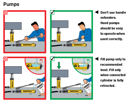 Enerpac Hydraulics Safety Instructions 7