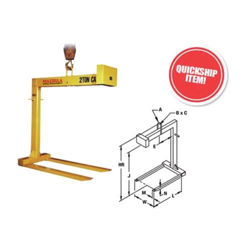 Standard Fixed Forks Pallet Lifters (Model 90)