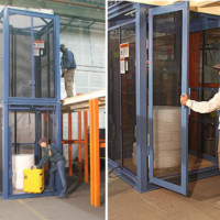 DM Series Hydraulic Vertical Lifts