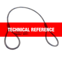 Wire Rope Sling Technical Reference