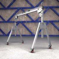 Metreel ALU-LIFT: Portable Aluminum Gantry Cranes