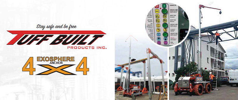 The Exosphere Mobile Fall Protection System: Insets