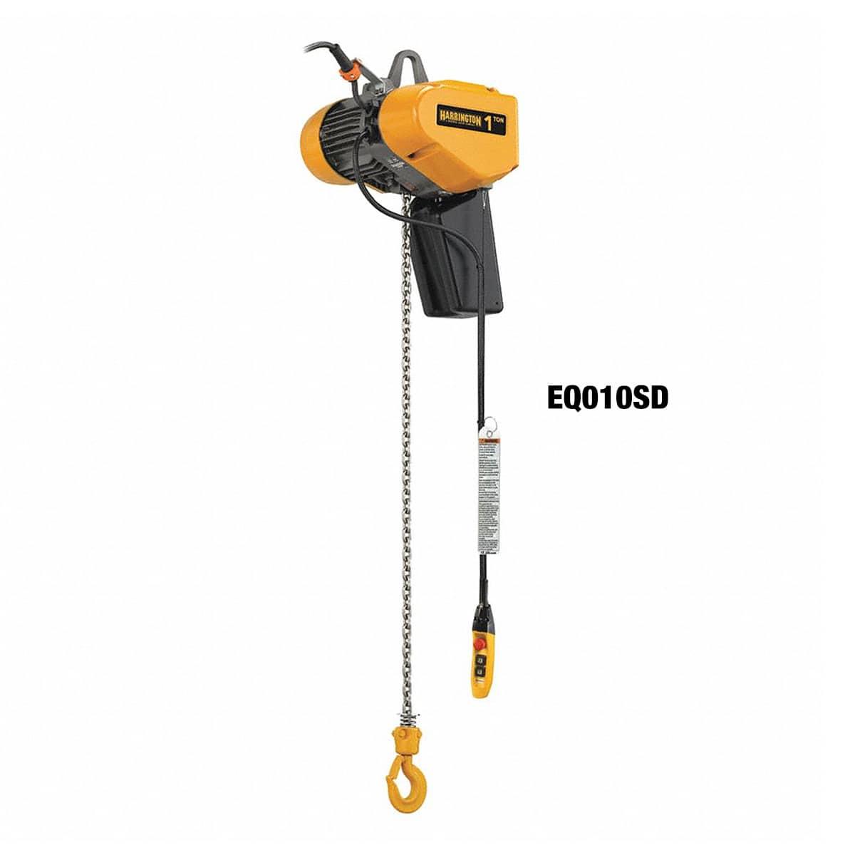 Harrington EQ 3-Phase Dual Speed Electric Chain Hoist