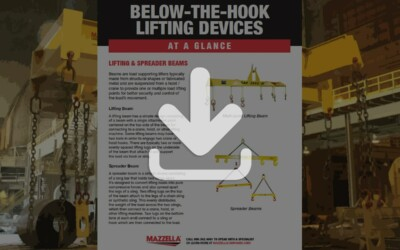 Below-the-Hook Lifting Devices At A Glance Guide