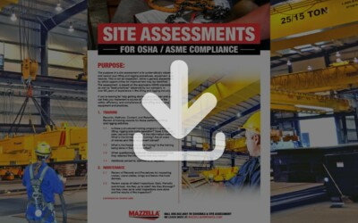 Lifting and Rigging Site Assessment Guide: Resource