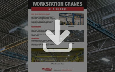 Workstation Cranes At A Glance Guide
