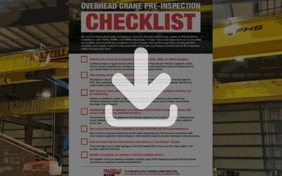 Overhead Crane Pre-Inspection Checklist: Resource