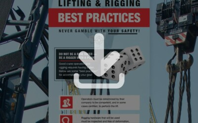 Lifting and Rigging Best Practices Infographic: Resource
