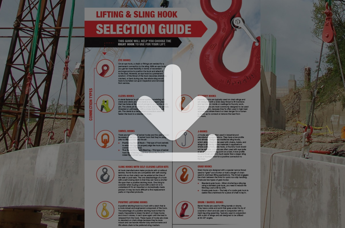 Lifting and Sling Hook Selection [Guide]