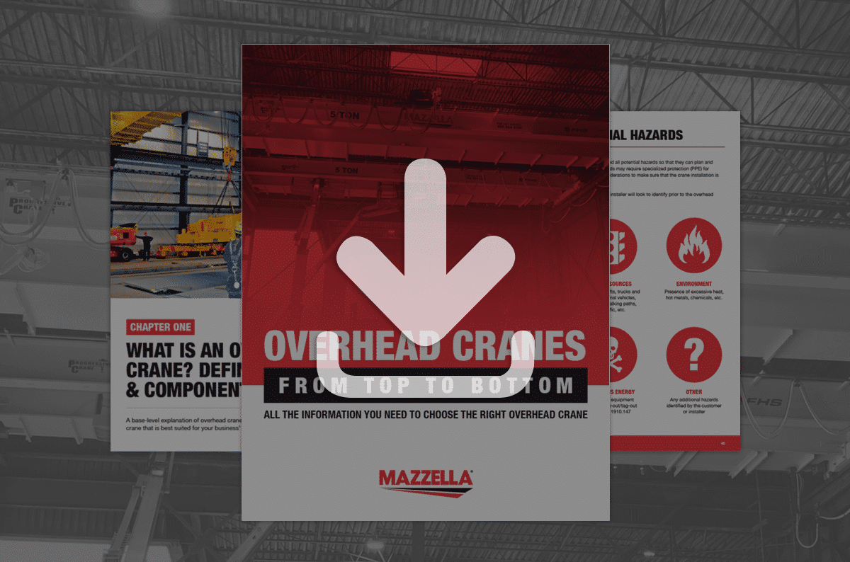 Overhead Cranes: From Top to Bottom [e-book]