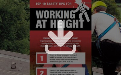 Top 10 Safety Tips for Working at Height: Resource