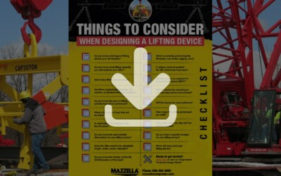 Custom Lifting Device Considerations and Design Sheet: Resource