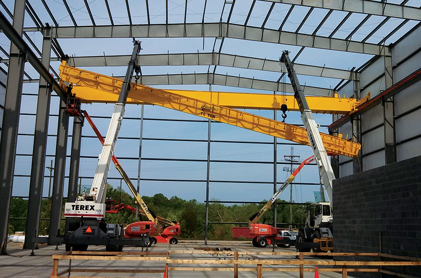 5 Common Problems with Overhead Cranes and How to Avoid Them: Runway Alignment