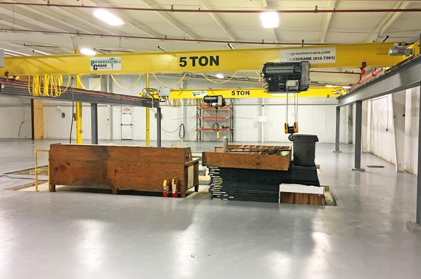 Best Overhead Crane Manufacturers In Carolinas: Progressive Crane