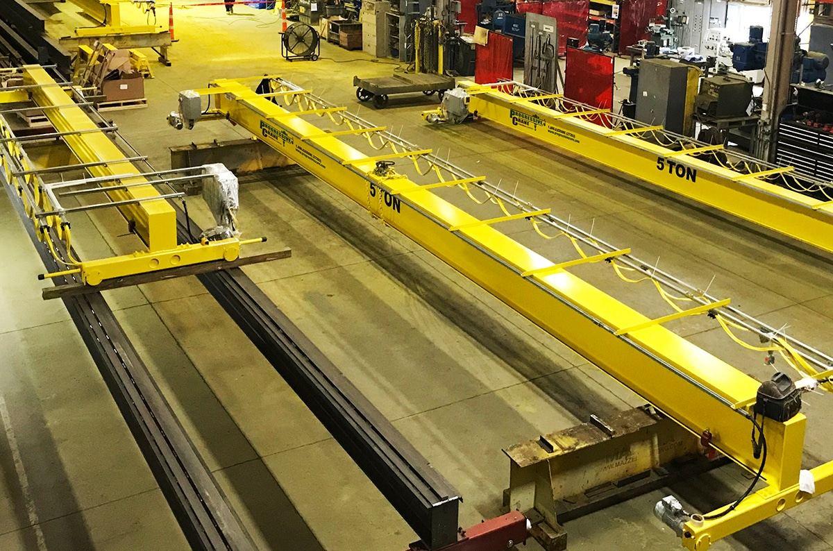 Who Are The Best Overhead Crane Manufacturers in Michigan / Detroit?