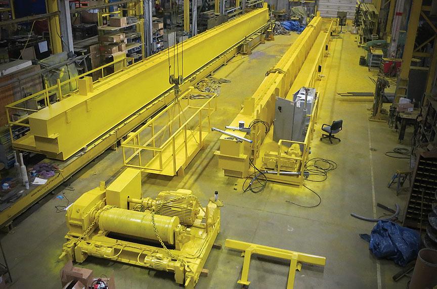 Best Overhead Crane Manufacturers In Detroit / Michigan: Overhead Crane Manufacturers