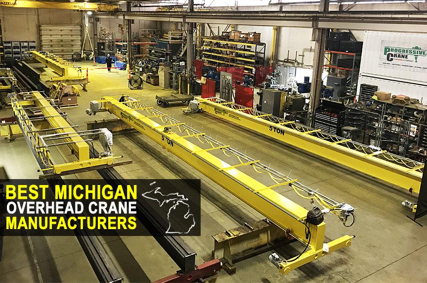 Best Overhead Crane Manufacturers In Detroit / Michigan: Crane Manufacturing