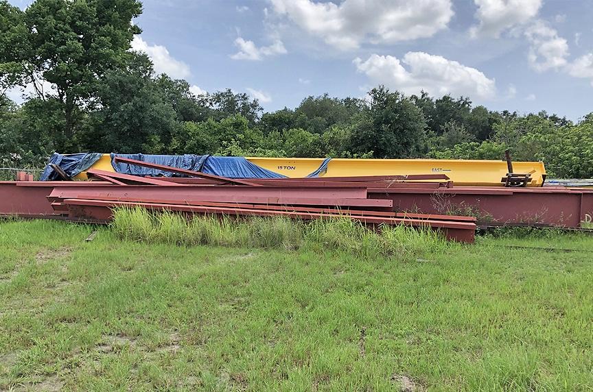 Buying New Vs. Used Overhead Crane: Beams In Field 2