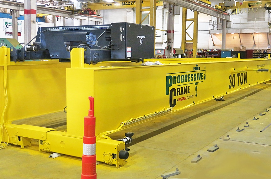 Buying New Vs. Used Overhead Crane: New Crane Manufacturing
