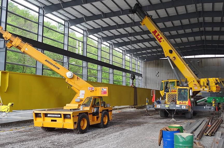Buying New Vs. Used Overhead Crane: New Crane Installation