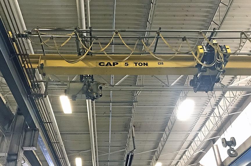 Crane Electrification: Conductor Bars vs. Cable Festoon vs. Cable Reel: Bridge and Runway Power