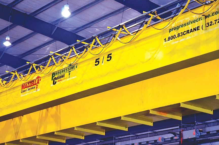 Crane Electrification: Conductor Bars vs. Cable Festoon vs. Cable Reel: Crane Electrification