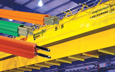 Crane Electrification: Conductor Bars vs. Cable Festoon vs. Cable Reel: Featured