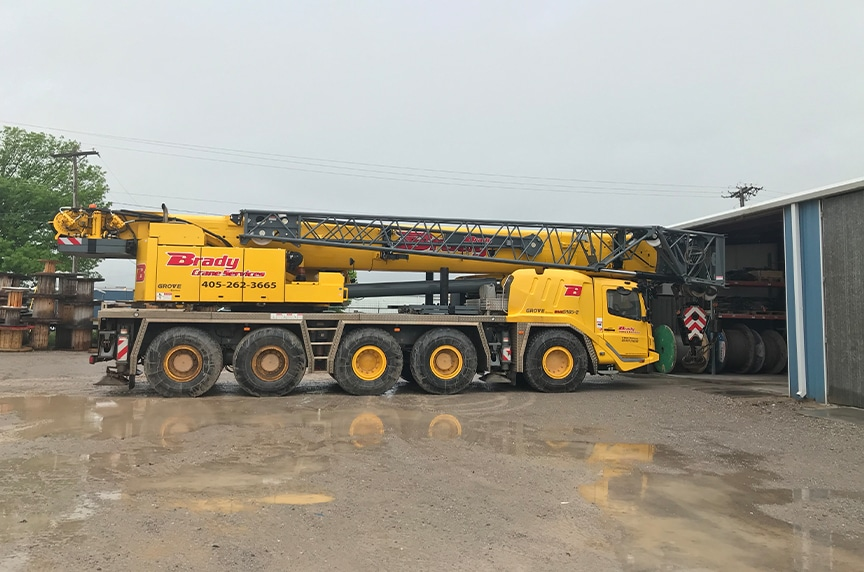 Different Types of Cranes for Construction: All Terrain Cranes