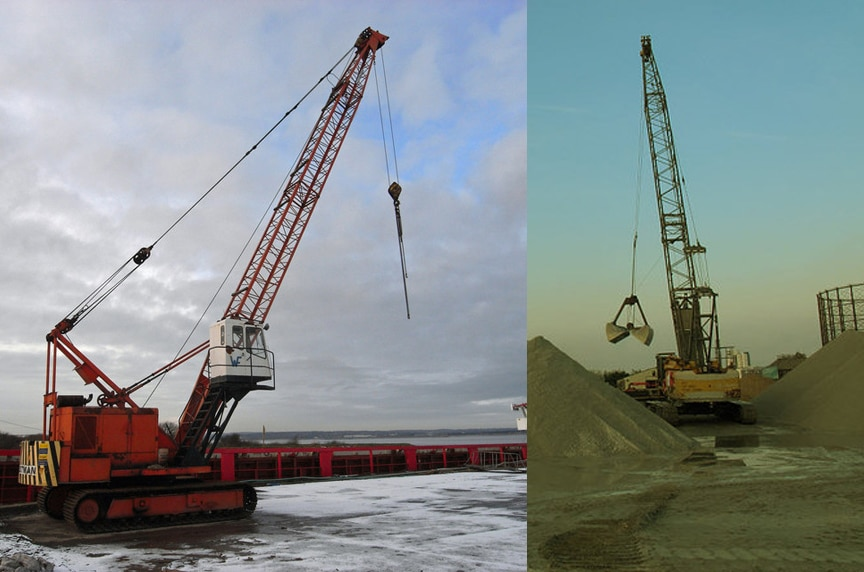 Different Types of Cranes for Construction: Crawler Cranes