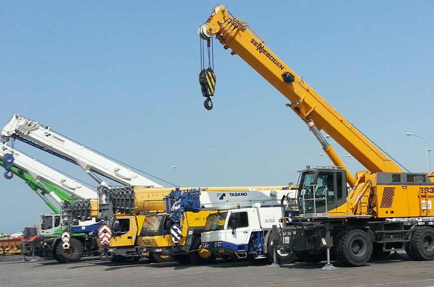 Different Types of Cranes for Construction: Mobile Cranes
