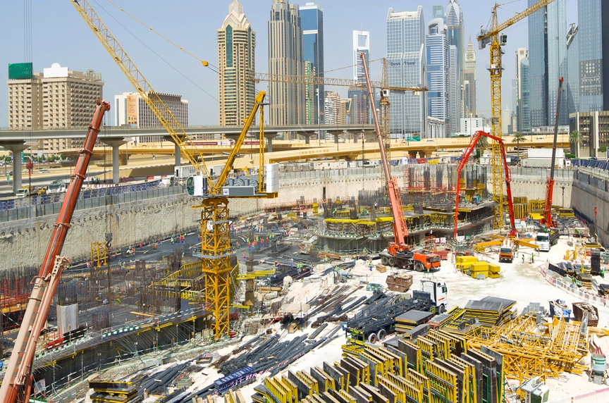Different Types of Cranes for Construction