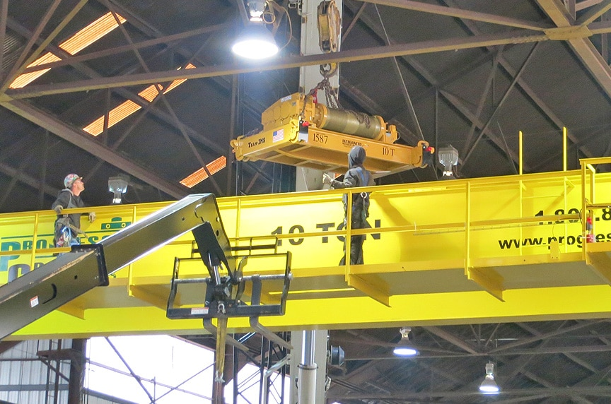 Custom Built Up Hoists vs. Package Hoist Systems for Overhead Cranes: Hoist Main