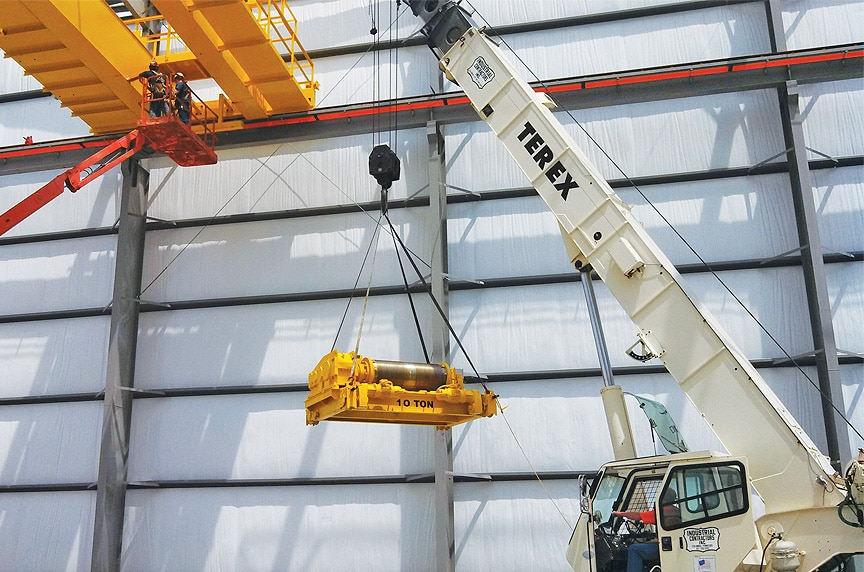 Custom Built Up Hoists vs. Package Hoist Systems for Overhead Cranes: Raising Hoist