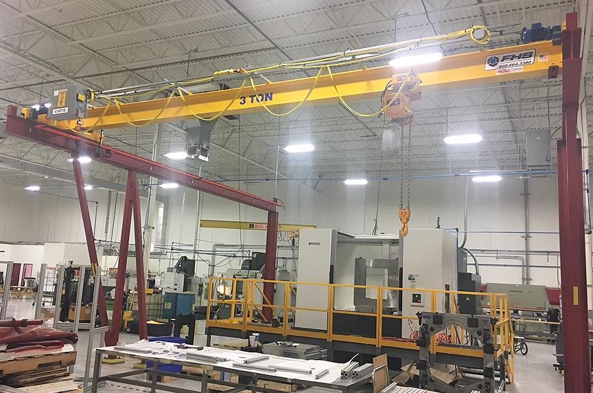Overhead Cranes: Modular Cranes vs. Engineered Process Cranes: Modular Crane 5