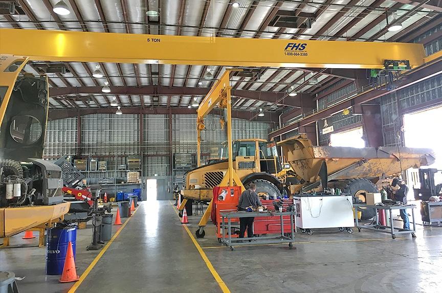Overhead Cranes: Modular Cranes vs. Engineered Process Cranes: Modular Crane 4