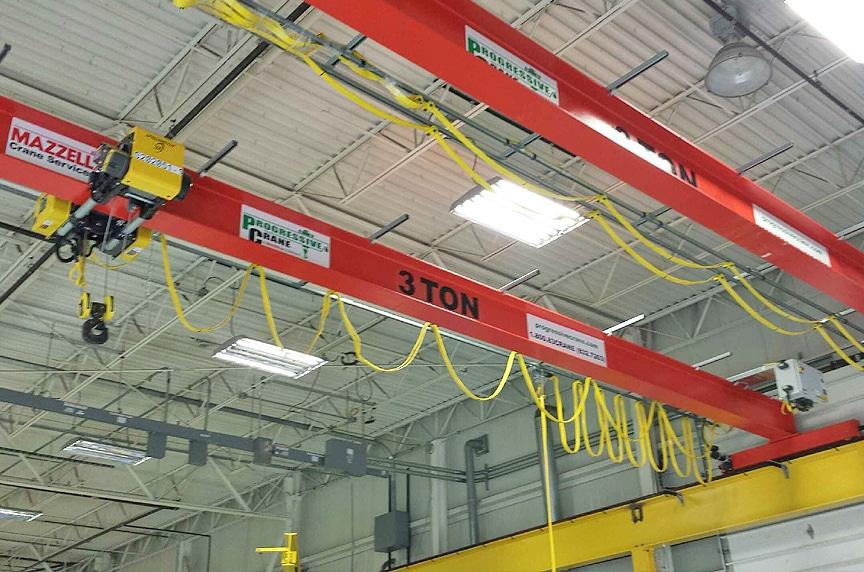 Overhead Cranes: Modular Cranes vs. Engineered Process Cranes: Modular Crane 2