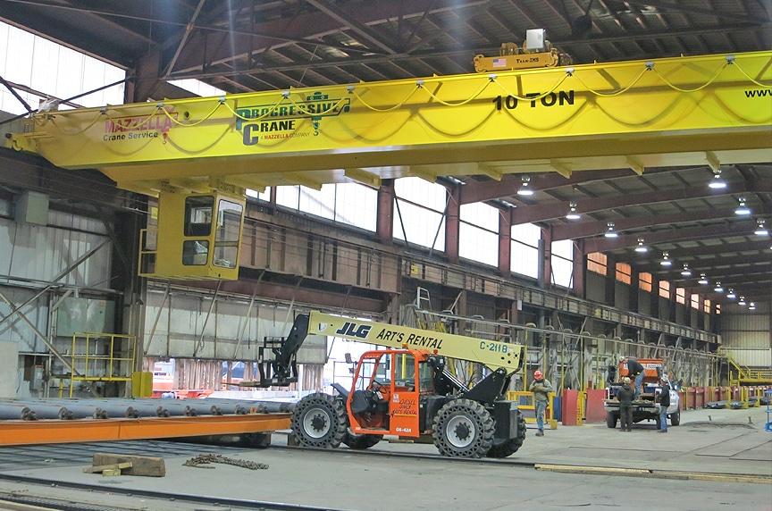 Overhead Cranes: Modular Cranes vs. Engineered Process Cranes: Process Crane