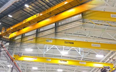 Overhead Bridge Cranes: Single Girder vs. Double Girder Design: Featured