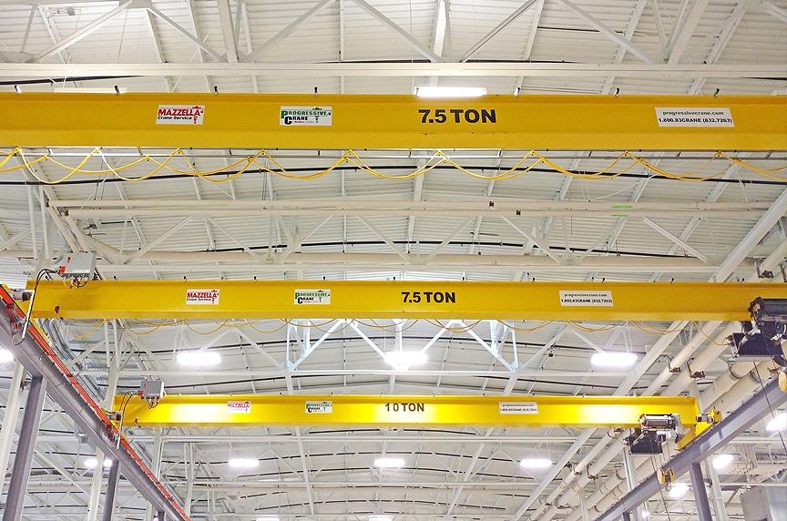 Overhead Bridge Cranes: Single Girder vs. Double Girder Design: Single Girder Guidelines