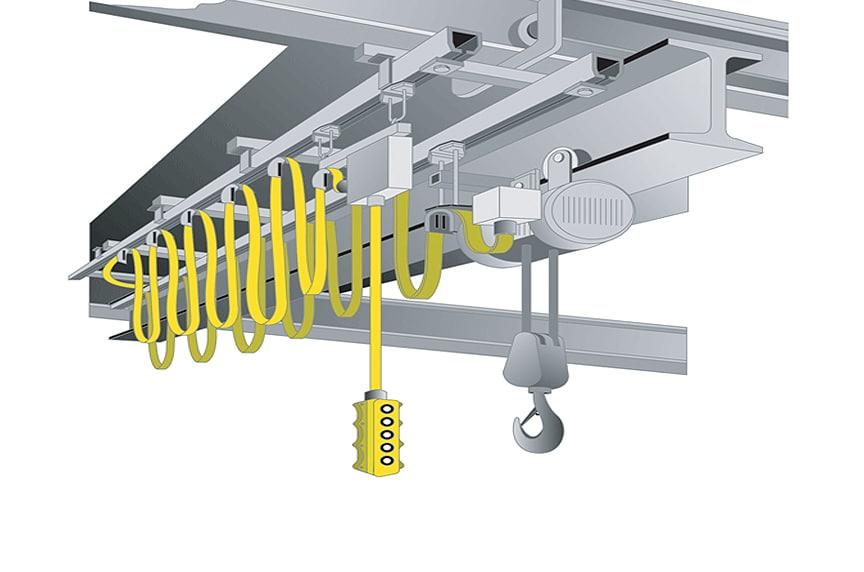 Overhead Crane Control Systems: Pendant with Festoon