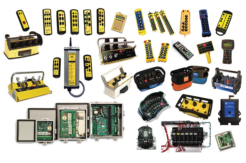 Overhead Crane Control Systems: Radio Controls