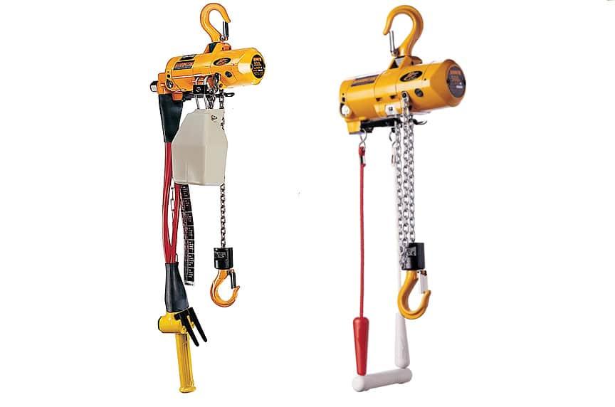 Overhead Crane Hoist Types and Design: Air Chain Hoists