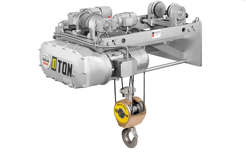 Overhead Crane Hoist Types and Design: Electric Wire Rope Hoists