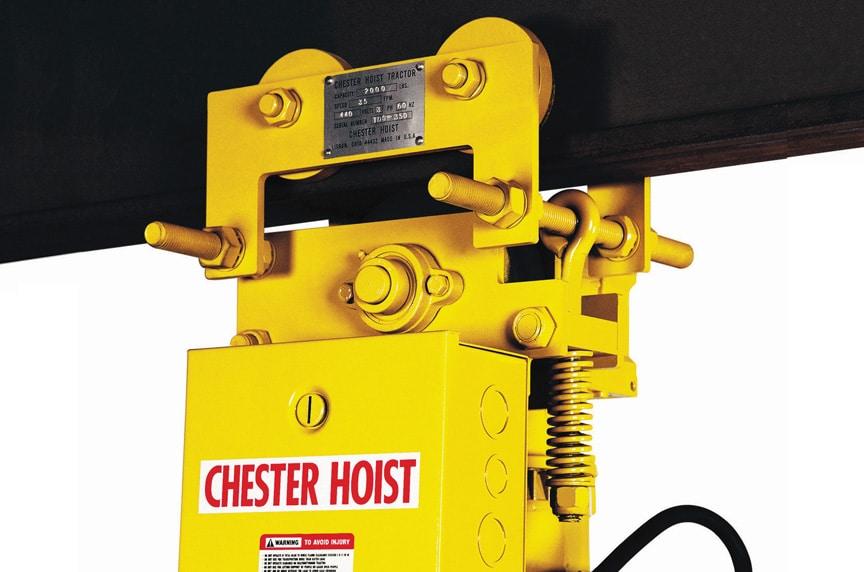 Overhead Crane Hoist Types and Design: Lug Mounted Hoists