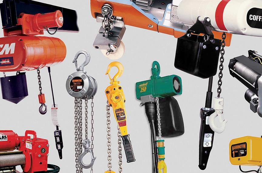 Overhead Crane Hoist Types and Design: All Types of Hoists