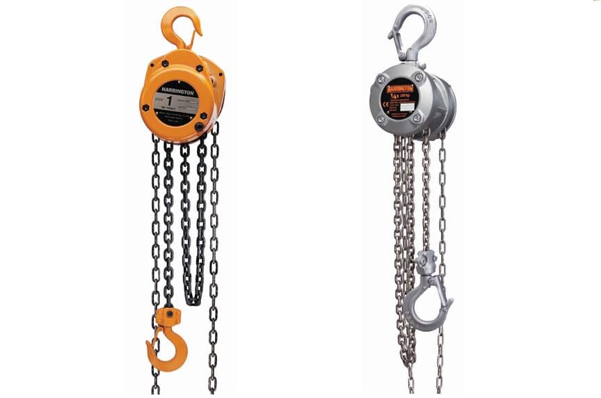 Overhead Crane Hoist Types and Design: Hand Chain Hoists