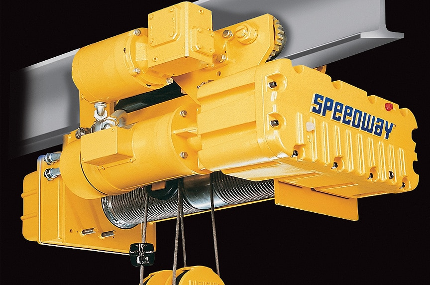 Overhead Crane Hoist Types and Design: Trolley Mounted Hoists