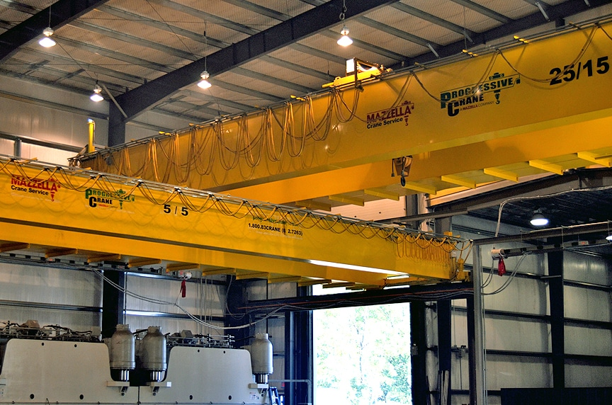 Overhead Crane Safety Systems: Cranes Near Each Other